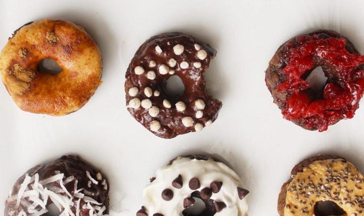 Mini Donuts Veganas Healthy Pleasure