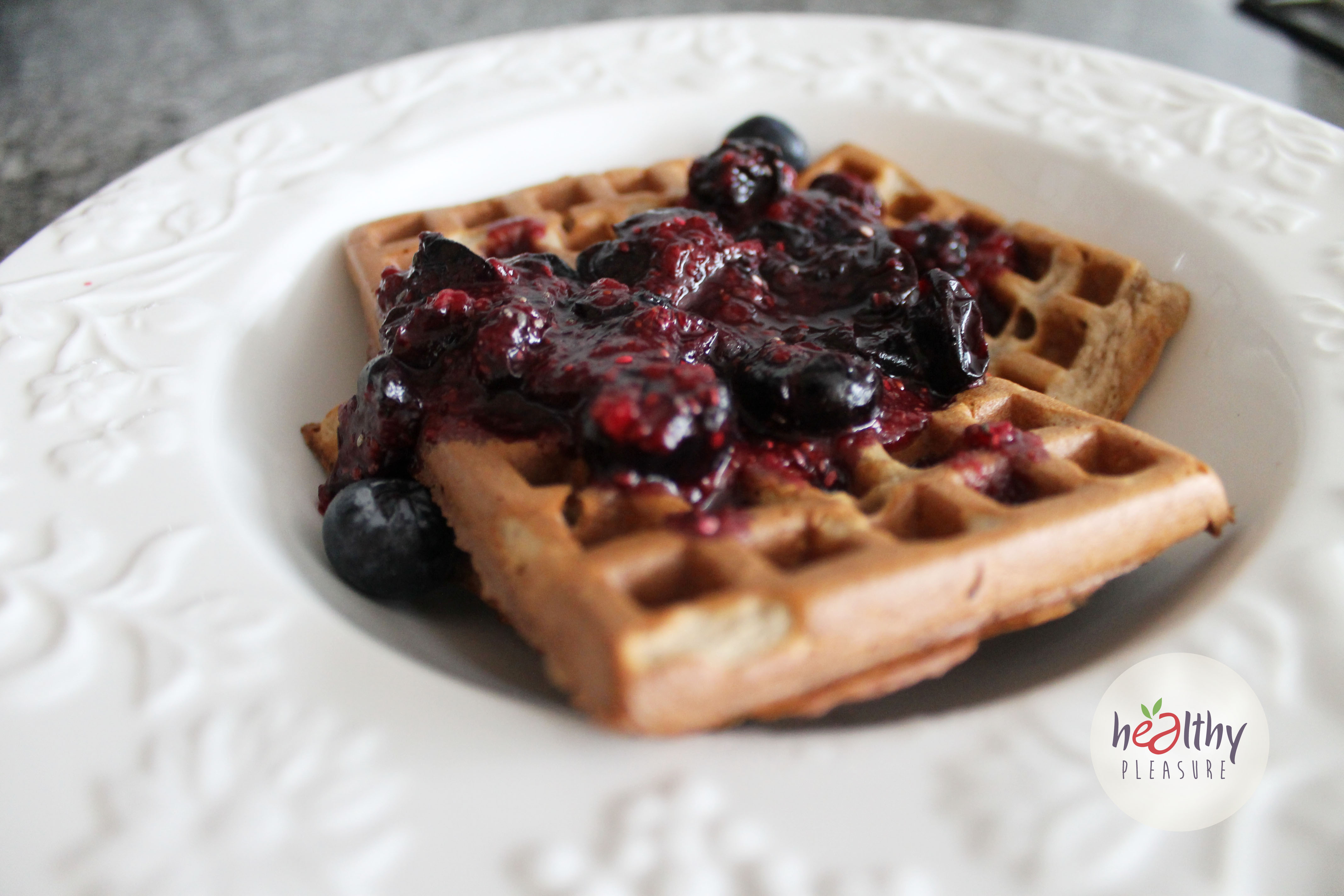 online retailer 4b28a 9b8ba Waffles proteicos de quinua, coco y canela – Healthy Pleasure